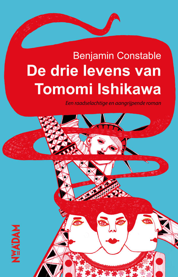 Cover De drie levens van Tomomi Ishikawa