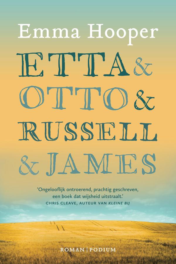 Cover Etta en Otto en Russell en James - Emma Hooper
