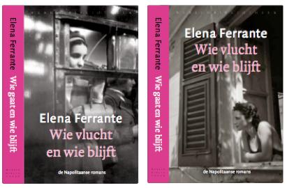 Omslagen Elena Ferrante - Napolitaanse romans